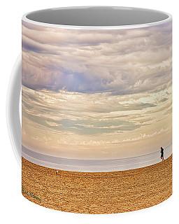 Beach Jogger Coffee Mug