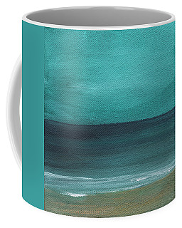 Beach Morning- Abstract Landscape Coffee Mug