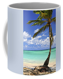 Beach Of A Tropical Island Coffee Mug