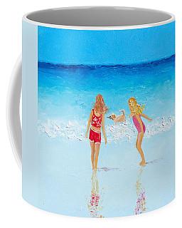 Beach Painting Beach Play Coffee Mug