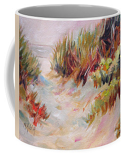 Beach Path Through The Dunes Coffee Mug