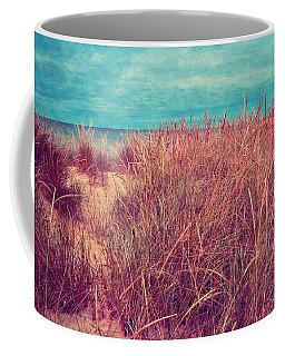 Beach Path Through The Grasses Coffee Mug