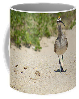 Coffee Mug featuring the photograph Beach Patrol by Brian Boyle