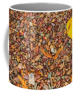 Beach Pebbles Of Montana Coffee Mug