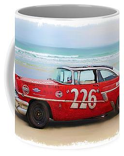 Beach Race Car 226 Coffee Mug