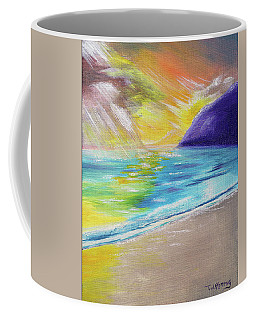 Beach Reflection Coffee Mug