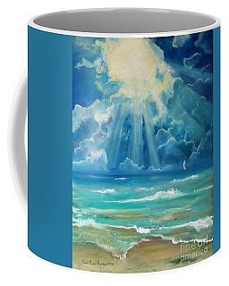 Beach Coffee Mug by Robin Maria Pedrero