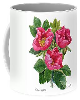 Beach Roses -  Rosa Rugosa Coffee Mug