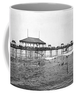 Beach Scene In Lima Coffee Mug