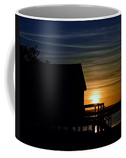 Beach Shack Silhouette Coffee Mug