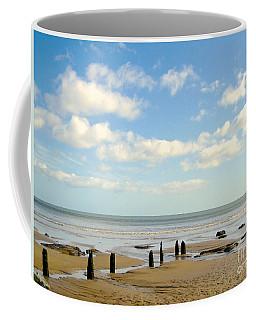 Beach Skies Coffee Mug by Suzanne Oesterling
