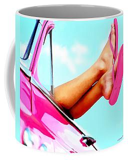 Beach Slippers - Summer Time Serie Coffee Mug