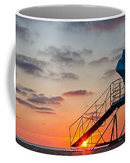 Beach Tower Wide Screen Coffee Mug