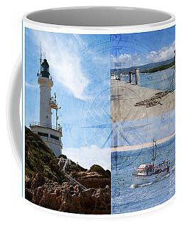 Beach Triptych 2 Coffee Mug by Linda Lees