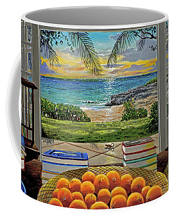 Beach View Coffee Mug
