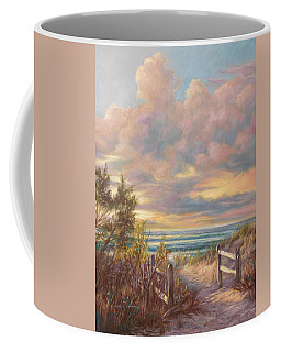 Beach Walk Coffee Mug