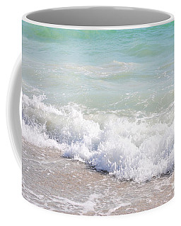 Coffee Mug featuring the photograph Surf And Sand by Margie Amberge