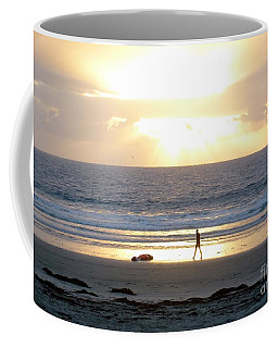 Beachcomber Encounter Coffee Mug
