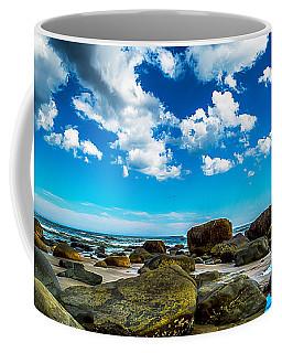 Beachfront Boulders Coffee Mug by James  Meyer