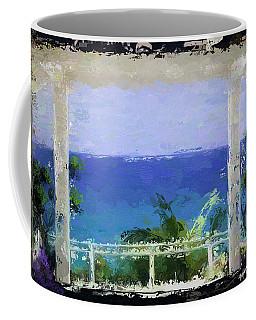 Beachfront Oasis Coffee Mug by Anthony Fishburne