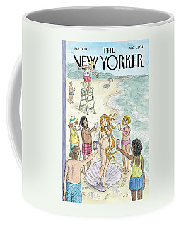 Venus On The Beach Coffee Mug