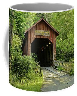 Bean Blossom Covered Bridge Coffee Mug