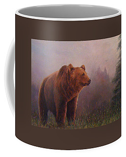 Bear In The Mist Coffee Mug
