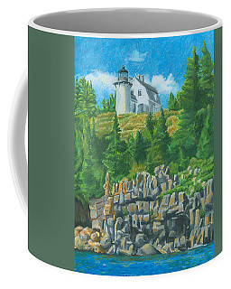 Bear Island Lighthouse Coffee Mug