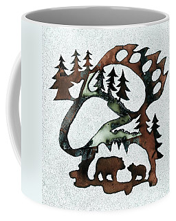 Bear Paw II 21 Coffee Mug