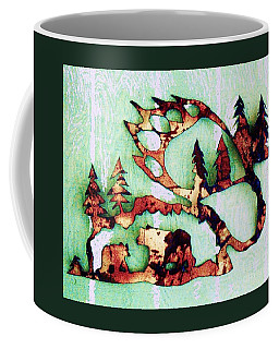 Bear Track 11 Coffee Mug