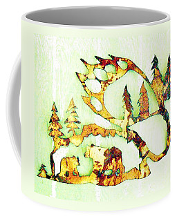 Bear Track 8 Coffee Mug