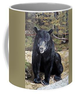 Coffee Mug featuring the painting Bear - Wildlife Art - Ursus Americanus by Jan Dappen