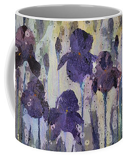 Bearded Irises Coffee Mug