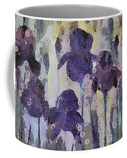 Bearded Irises Coffee Mug