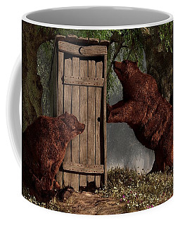 Bears Around The Outhouse Coffee Mug