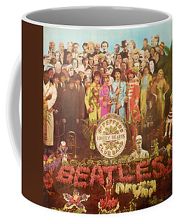 Beatles Lonely Hearts Club Band Coffee Mug