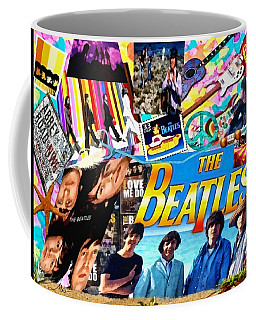 Beatles For Summer Coffee Mug by Mo T