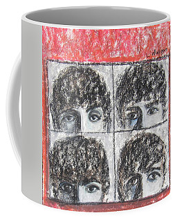Beatles Hard Day's Night Coffee Mug