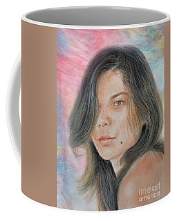 Beautiful And Sexy Actress Jeananne Goossen Iv Altered Version Coffee Mug