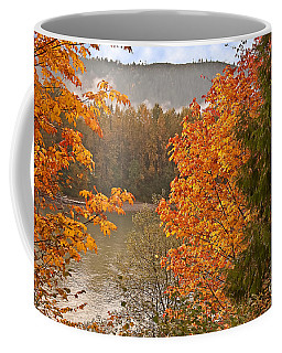 Beautiful Autumn Gold Art Prints Coffee Mug by Valerie Garner