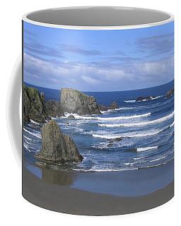 Coffee Mug featuring the photograph Beautiful Bandon Beach by Will Borden