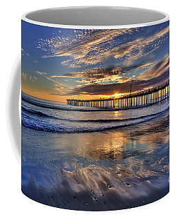 Coffee Mug featuring the photograph Beautiful Cayucos by Beth Sargent