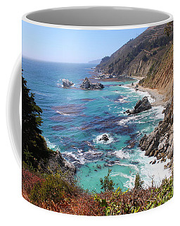 Beautiful Coastline Coffee Mug by Bev Conover
