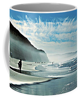 Another Beautiful Day At The Beach Coffee Mug by Sharon Soberon