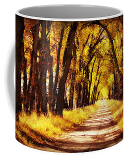 Beautiful Fall Day In Nebraska Coffee Mug