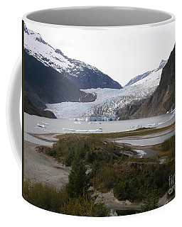 Beautiful Mendenhall Glacier Coffee Mug by Bev Conover