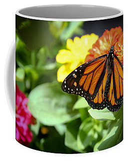 Beautiful Monarch Butterfly Coffee Mug by Patrice Zinck
