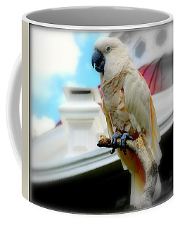 Beautiful Salmon-crested Cockatoo Coffee Mug