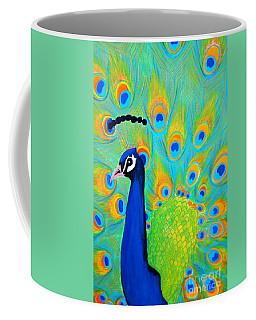 Beautiful Peacock  Coffee Mug