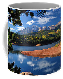 Beautiful Pikes Peak At Crystal  Coffee Mug